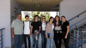 Visit at University of Cyprus.