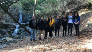 Educational Trip to Troodos for 2 research teams of Agios Ioannis Lyceum.