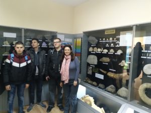 The Study visit at the Museum of Natural History Varna
